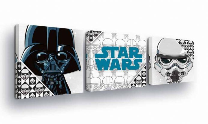Baby Star Wars Canvas set | Buy now